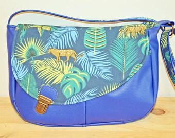 Tropical blue Tairie bag