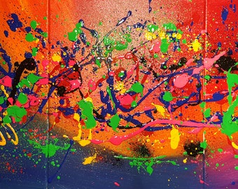 "Modern Abstract Art/ Contemporary Art/ Expressionism/ ""Ozmium"""