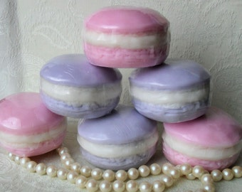 Handcrafted Soap French Macaron