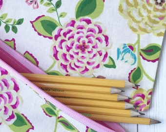 Zipper pencil pouch