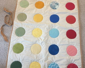 Twister Blanket - Picnic Blanket - kids and adults - game room - lawn game - fun
