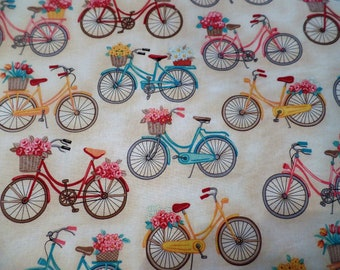 4-pc Bicycle handcrafted placemats, lined, so cute