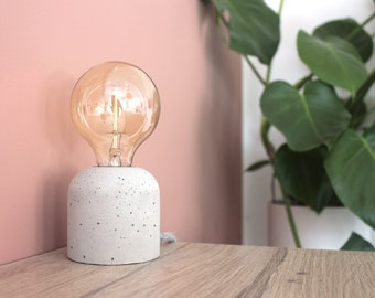 "Concrete ""Cherry"" - Table Lamp"