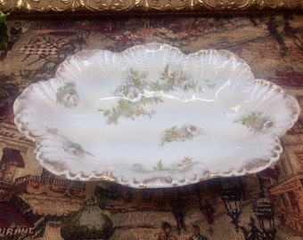 Ridgeway porcelain floral dish