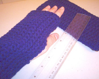pattern-Quick And Easy Fingerless MITTS