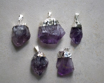 40% Off - Amethyst Point Pendant/Necklace