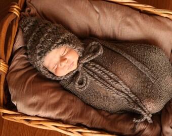 Nouveau-né Chunky env-bosse tourbillon Bonnet tricot patron PDF numéro 142, téléchargement immédiat--sur 35 000 modèles vendus--vendre vos tricots
