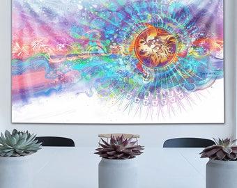 Solar Wave Tapestry by Simon Haiduk