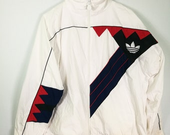 Adidas Jacket tracktop zip up sweater 90's