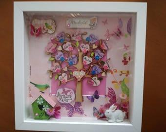 Custom child frame//decorated frame//family tree. Family Tree