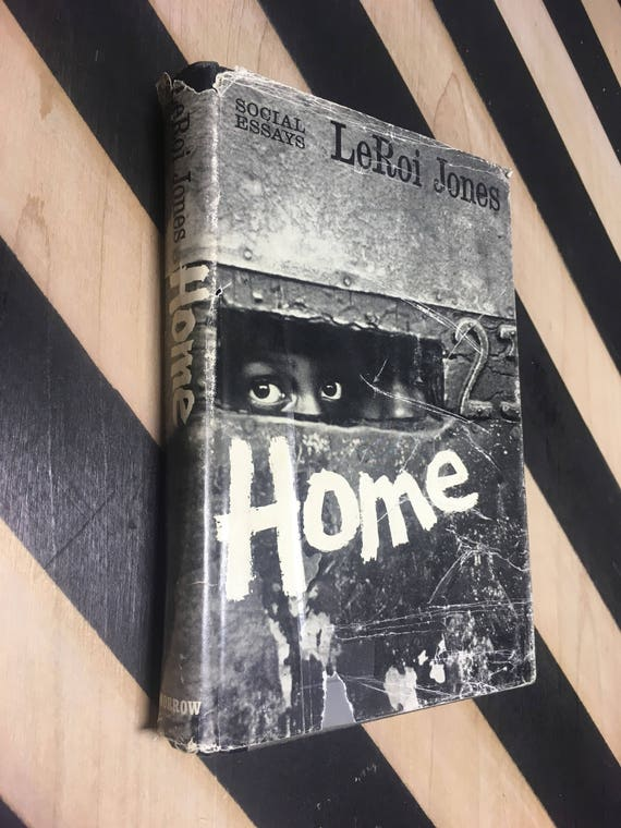 Home: Social Essays by LeRoi Jones (Hardcover, 1966) vintage book