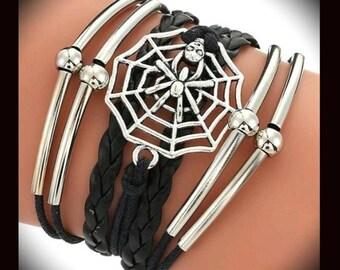 Spider Skull Bracelet