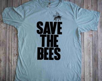 Save the Bees Shirt, Bee Shirt, Environment tshirt, Beekeeper Shirt, Save the Bees, Honey Bees, Bees,  Bees Tee, Environment