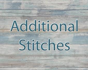 ADD-ON - Additional Stitches