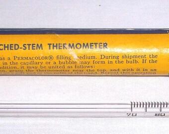 Vintage Taylor Etched Stem Thermometer made for Eastman Kodak
