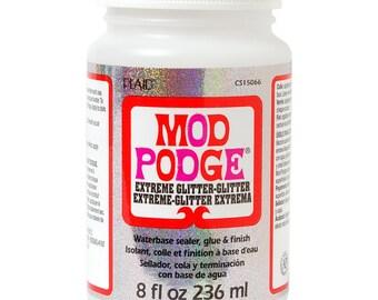 Mod Podge, 8 oz, Extreme glitter