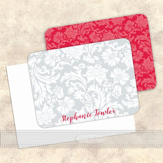 personalized notecards notecard set thank you cards teacher