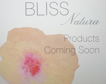 Natural Organic Skin Care Coming Soon