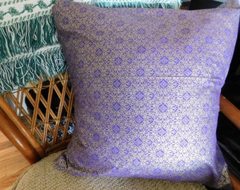 Purple and Gold Boho Pillowcase Cover