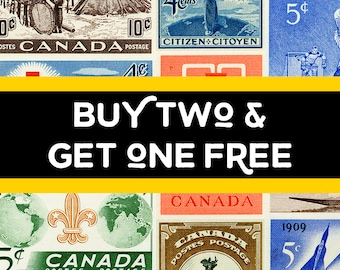 Stamp Art Prints - Buy Two Get One Free! Save 33%! Canada Stamp Art, postage stamp, art reproductions. large wall art prints, canada posters