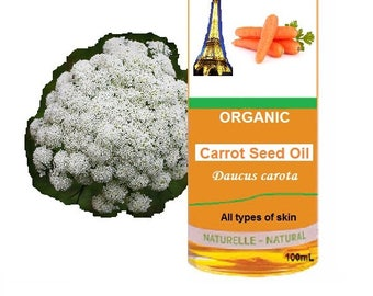 Organic Carrot Seed Oil   (Daucus carota)  -   in 100mL