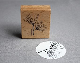 Stamp Pine-tree branch - Pininenzweig