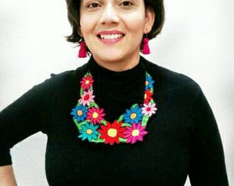 CLEARANCE!  NECKLACE Mexiccan Embroidered