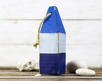 """10 buoys for Kathryn 11"""", Blue, White, Dark Blue, Vintage Style, Nautical, by SEASTYLE"""