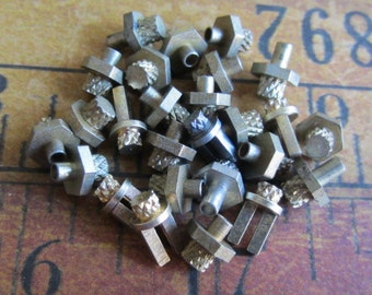 Vintage Brass Clock parts spindles - levers - Robot mix - Levers - Steampunk - Scrapbooking x79