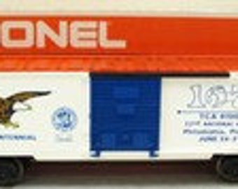 Lionel 9779 1976 TCA 22nd National Convention Philadelphia, Pa Box Car
