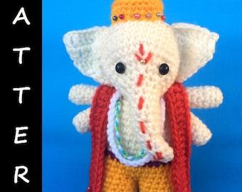 PDF Pattern Amigurumi: Ganesha god