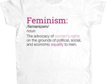 Definition of Feminism -- Women's T-Shirt