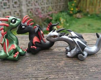 Khalisa's Dragons: The Terrible Trio (Set 1/2)