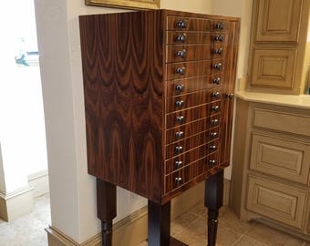 Custom Jewelry Storage Cabinet