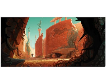 Theseus and the Minotaur - Inside the maze