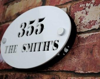 Personalised Front Door Sign