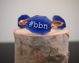 Big Blue Nation Kentucky Wildcats bangle bracelet