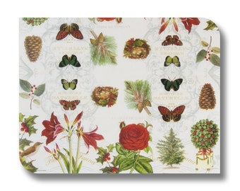 Nature paper napkin for decoupage, mixed media, collage, scrapbooking x 1.  Decorative nature woodland. No. 1190 Histoire Naturelle