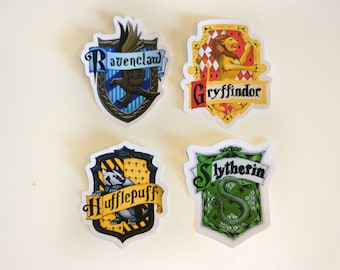 Harry Potter House Vinyl Stickers | Gryffindor | Slytherin | Hufflepuff | Ravensclaw | Pick 1