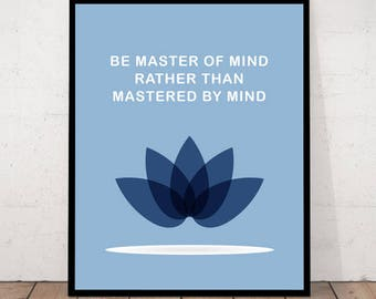 Happiness Print, Zen Decor, Meditation Decor, Yoga Wall Art, Zen Wall Art, Inspirational Quote, Zen Quote Print, Happiness, Zen Poster