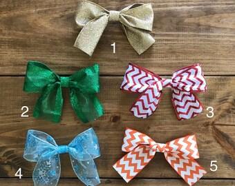 Holiday Bows, Decor Bows