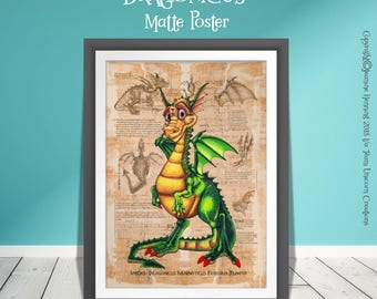 DRAGON print for kids!