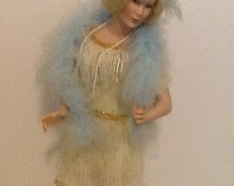 Porcelain doll, Paradise galleries, Treasury Collection, Millie by Patricia Rose