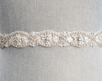Elliott wedding sash, gold bridal belt, gold crystal sash, wedding dress sash, Rhinestones sash, gold wedding belt, crystal wedding sash