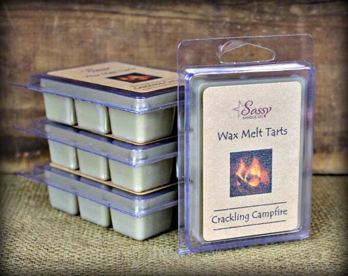 CRACKLING CAMPFIRE - Wax Melt Tart - Sassy Kandle Co.
