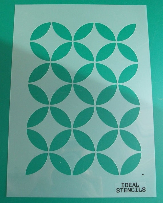 Marokkanische Kreise Muster Schablone Home Dekor streichen
