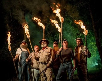 Mountain Monsters approx 8.5x11 glossy photo