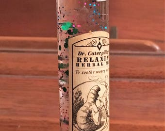 Alice in Wonderland Absolem II Potion Bottle//Fairytale Decor//Whimsical Gifts