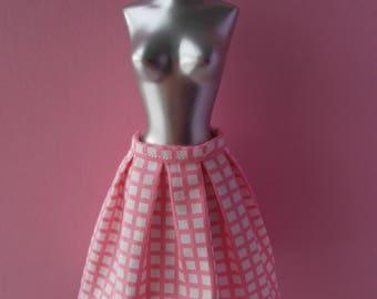 Handmade skirt for Momoko, Fashion Royalty, Poppy Parker, Pure Neemo S, Pullip (not suitable for Barbie)
