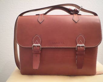 Leather Briefcase Pia II